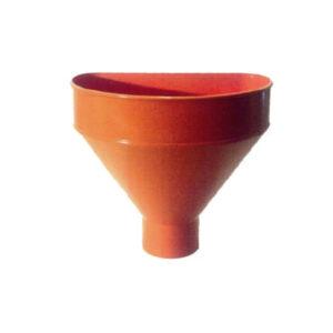 Raccoglitore monolitico Salento in PVC per pluviali – Arancio
