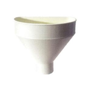 Raccoglitore monolitico Salento in PVC per pluviali – Avorio