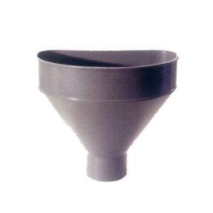 Raccoglitore monolitico Salento in PVC per pluviali – Grigio
