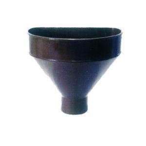 Raccoglitore monolitico Salento in PVC per pluviali – Marrone