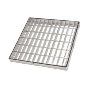 Telaio con griglia zincata quadra