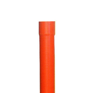 Tubi in PVC rosso arancio