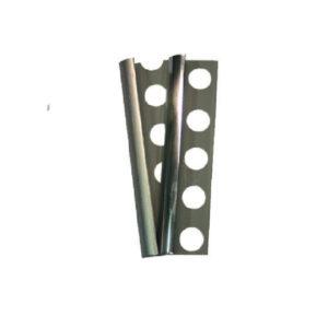 Profilo proteggi angolo effetto acciaio in PVC