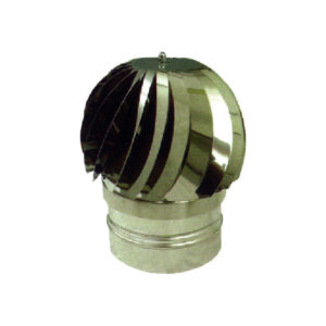 Cappello eolico INOX