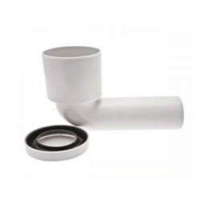 Curva WC alta in Polipropilene